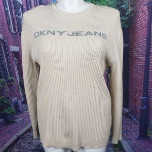 DNKY Jeans Logo Sweater, XL